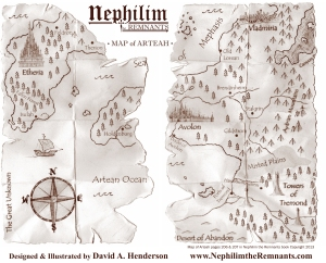 Map of Arteah